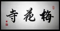 Chinese hand brushed